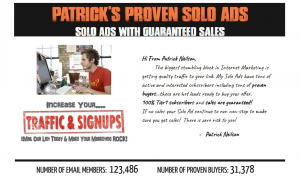 Patricks Proven Solo Ads Review